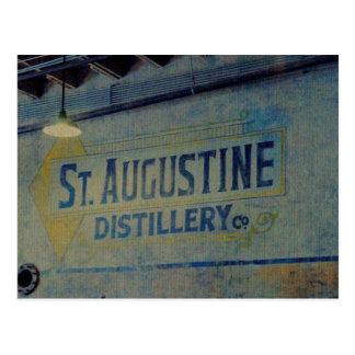 St. Augustine Distillery Postcard