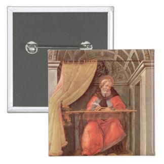 St Augustine en su célula Pins