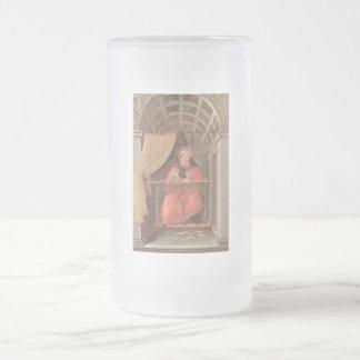 St Augustine en su célula Taza De Cristal