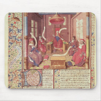 St Augustine, Epicurus, Zeno, Antiochus y Mousepads