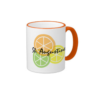St Augustine Fl Citrus OrangeLimeLemon Coffee Mug