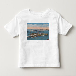 St. Augustine, FL - View of Bridge of Lions Tee Shirt