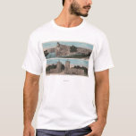 St. Augustine, FL - View of Ft. Marion & City T-Shirt