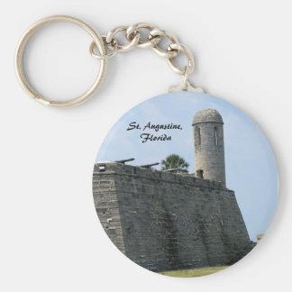 St. Augustine Florida fort castillo de san marcos Keychain