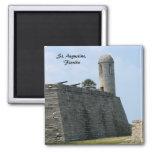 St. Augustine Florida fort castillo de san marcos Refrigerator Magnet