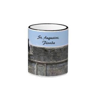 St. Augustine Florida fort castillo de san marcos Ringer Mug