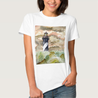 St Augustine Florida lighthouse painting T Shirt