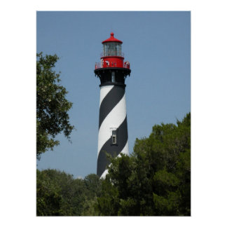 St Augustine Florida Lighthouse Poster