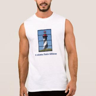 St Augustine Florida Lighthouse Sleeveless Shirt