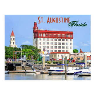 St. Augustine, Florida, U.S.A. Postcard