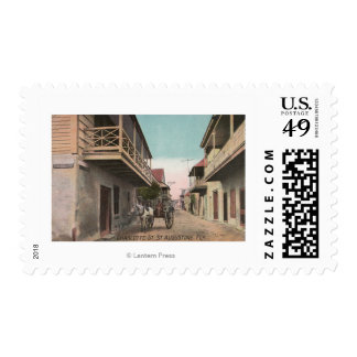 St. Augustine, Florida - View of Charlotte St Postage