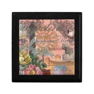 St. Augustine Florida Vintage Collage Jewelry Box