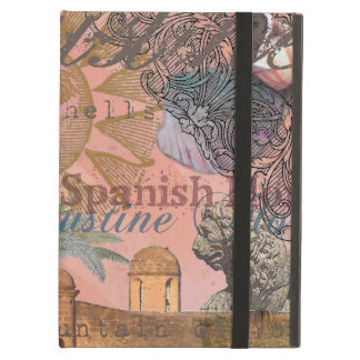 St. Augustine Florida Vintage Collage iPad Air Cover