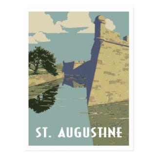 St. Augustine Florida vintage travel Postcard