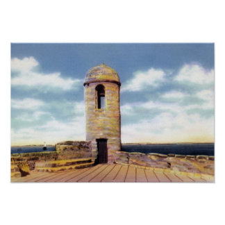 St. Augustine Florida Watchtower Poster