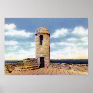 St. Augustine Florida Watchtower Poster