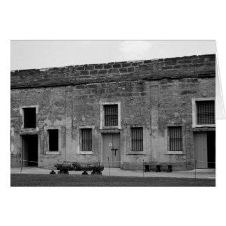 St Augustine Fort Castillo de San Marcos Card