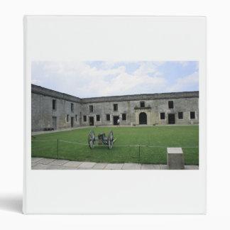 St Augustine Fort Castillo de San Marcos II Vinyl Binders