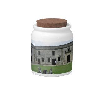 St Augustine Fort Castillo de San Marcos II Candy Jars