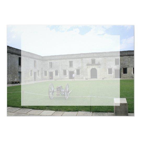 St Augustine Fort Castillo de San Marcos II Card