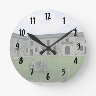 St Augustine Fort Castillo de San Marcos II Wall Clocks