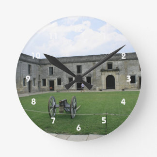 St Augustine Fort Castillo de San Marcos II Clock