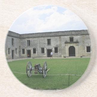 St Augustine Fort Castillo de San Marcos II Coasters