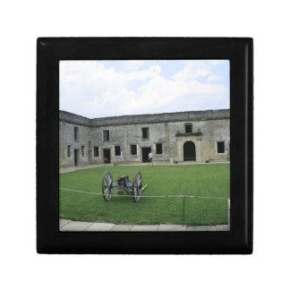 St Augustine Fort Castillo de San Marcos II Trinket Box
