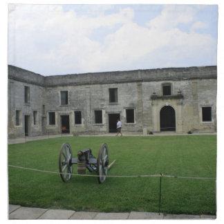 St Augustine Fort Castillo de San Marcos II Napkins