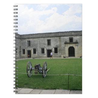 St Augustine Fort Castillo de San Marcos II Spiral Notebook