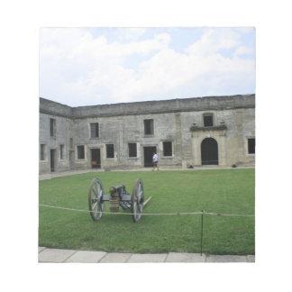 St Augustine Fort Castillo de San Marcos II Memo Note Pad