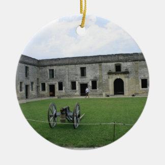St Augustine Fort Castillo de San Marcos II Christmas Ornament