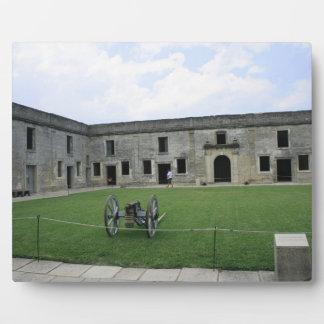 St Augustine Fort Castillo de San Marcos II Display Plaques