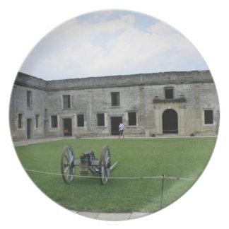 St Augustine Fort Castillo de San Marcos II Party Plate