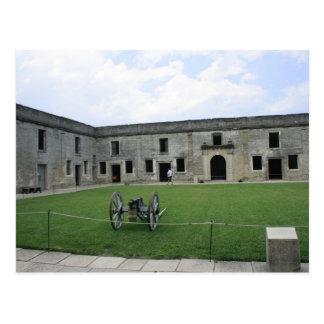 St Augustine Fort Castillo de San Marcos II Postcard