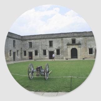 St Augustine Fort Castillo de San Marcos II Stickers