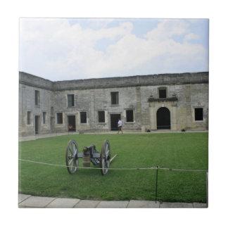 St Augustine Fort Castillo de San Marcos II Tiles