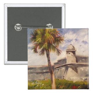St. Augustine Fort - Castillo de san Marcos Pinback Button