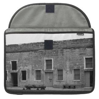 St Augustine Fort Castillo de San Marcos Sleeves For MacBooks