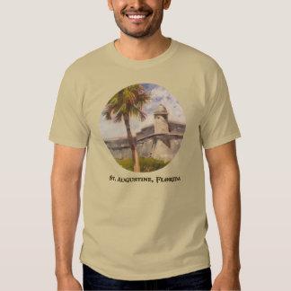 St. Augustine Fort - Castillo de san Marcos T-shirt