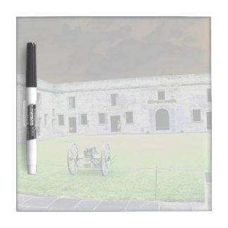 St  Augustine Fort I solarized Dry-Erase Whiteboard