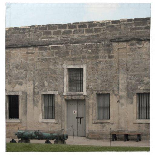 St Augustine Fort II.jpg Printed Napkins