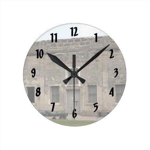 St Augustine Fort II.jpg Round Clocks