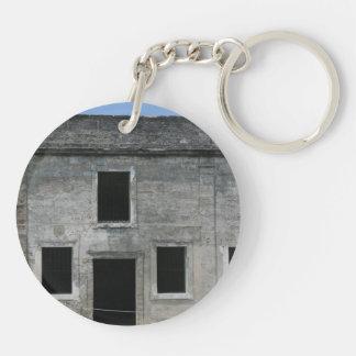 St Augustine Fort Windows Keychain