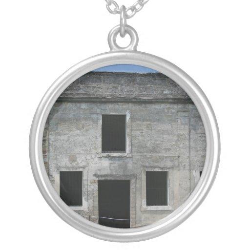 St Augustine Fort Windows Necklace