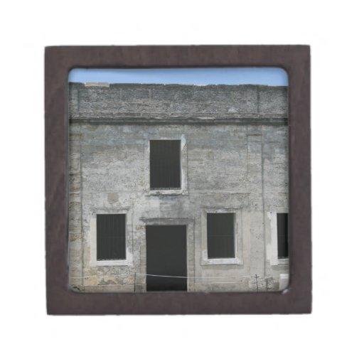 St Augustine Fort Windows Premium Keepsake Box