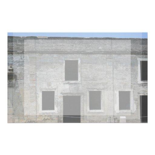 St Augustine Fort Windows Stationery Design