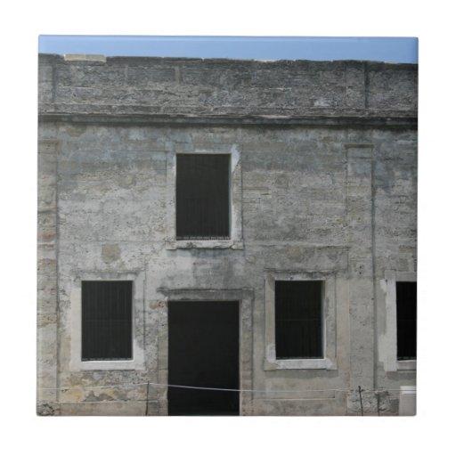 St Augustine Fort Windows Tiles