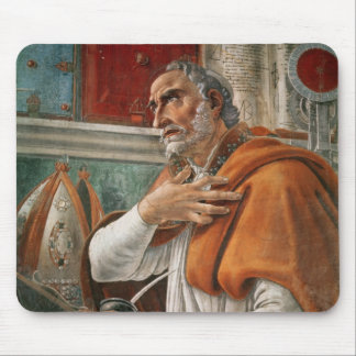 St. Augustine in his Cell, c.1480 Mouse Pad