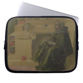 St. Augustine in his Study (predella of the Barbad Computer Sleeve